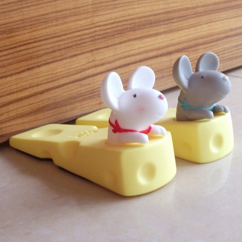 1X-Cute-Door-Stops-Cartoon-Creative-Silicone-Door-Stopper-Holder-Toys-For-CW8W7 thumbnail 4