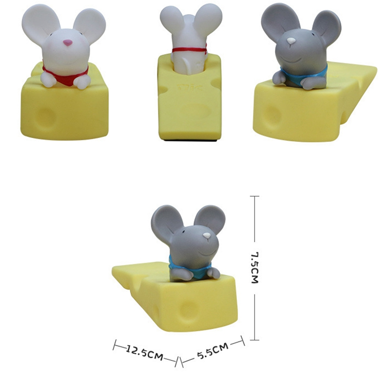 1X-Cute-Door-Stops-Cartoon-Creative-Silicone-Door-Stopper-Holder-Toys-For-CW8W7 thumbnail 5