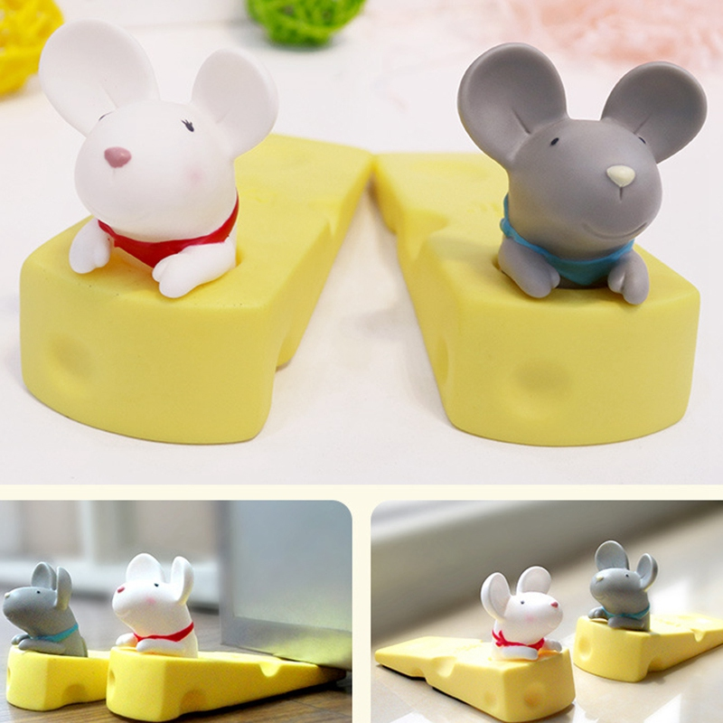 1X-Cute-Door-Stops-Cartoon-Creative-Silicone-Door-Stopper-Holder-Toys-For-CW8W7 thumbnail 7