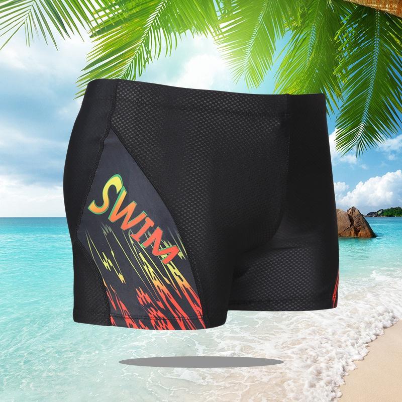 Uomo-Costume-Da-Bagno-Costume-Da-Bagno-Pantaloncini-Da-Spiaggia-Pantaloncin-Z2Q8 miniatura 7