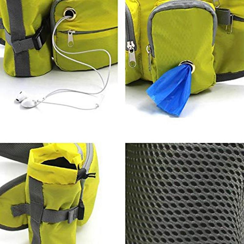 Indexbild 6 - Outdoor-Pet-Training-Pockets-Hochwertige-Atmungsaktive-Nylon-Snack-Packs-f-B8W9