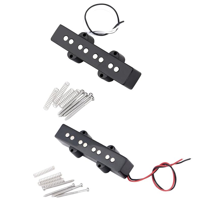 Pro-Elektrisch-Bass-Offener-Typ-Geraeuschlos-Bruecke-Pickup-fuer-4-Saitigen-Ja-L7T7 Indexbild 5