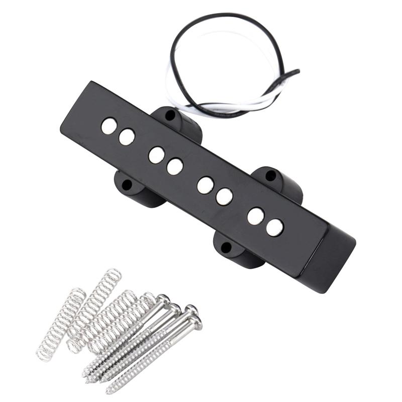 Pro-Elektrisch-Bass-Offener-Typ-Geraeuschlos-Bruecke-Pickup-fuer-4-Saitigen-Ja-L7T7