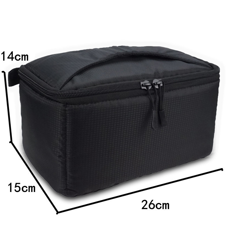thumbnail 21 - 1X-Universal-Insert-Partition-Padded-Camera-Bag-Shockproof-Sleeve-Cover-For-P8G1