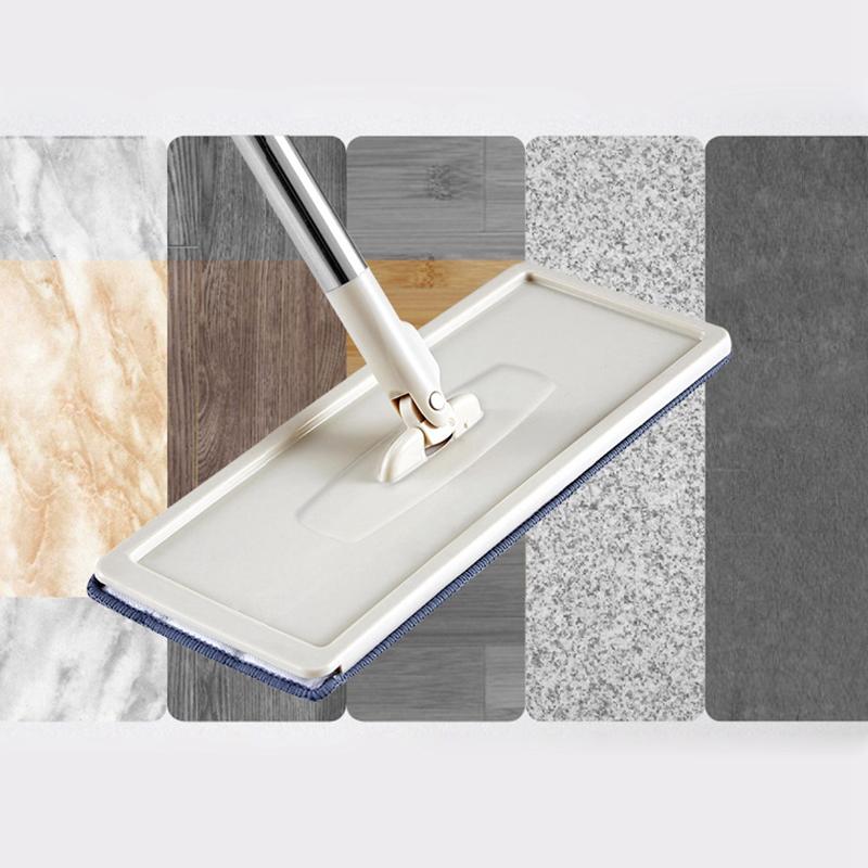 Magic-automatische-Spin-Mop-Hand-Free-Waschen-Mikrofaser-Reinigungstuch-c3p6 Indexbild 6
