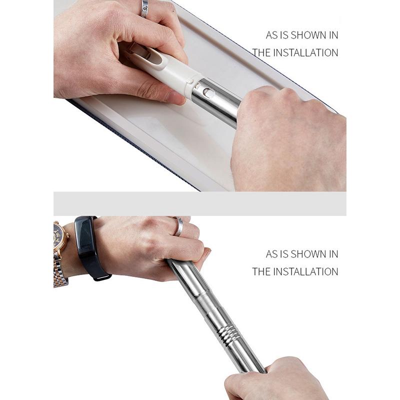 Magic-automatische-Spin-Mop-Hand-Free-Waschen-Mikrofaser-Reinigungstuch-c3p6 Indexbild 10