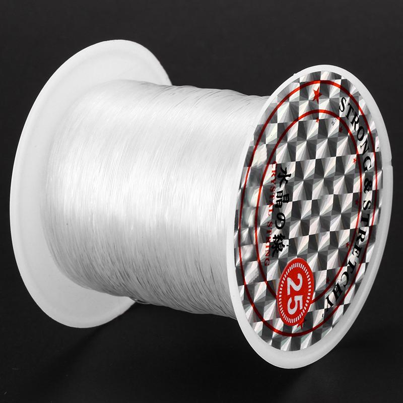 41 Lbs Kapazitaet 0,5 mm Durchmesser Klar Nylon Angelschnur Schnurspule A8C2