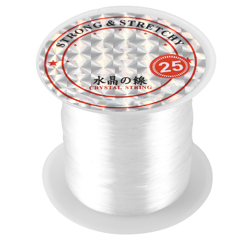 41-Lbs-Capacita-039-0-5-millimetri-Diametro-nylon-trasparente-Lenza-Cord-spool-R4H2