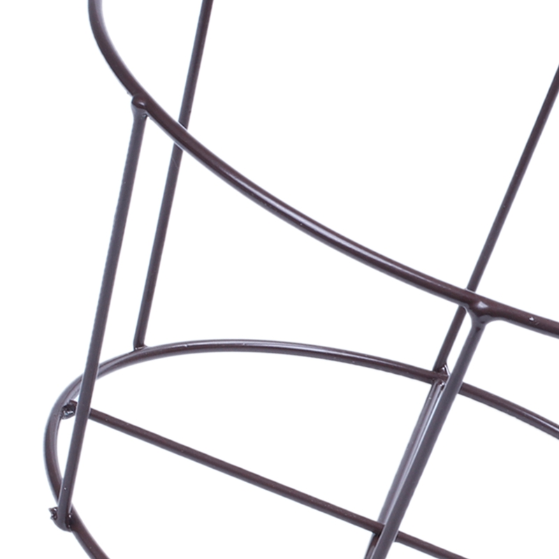 Metal-Iron-Flower-Pot-Hanging-Balcony-Garden-Plant-Planter-Home-Decor-baske-Q3F3 thumbnail 9
