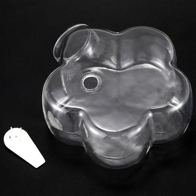 Geformte-Haengende-Glas-Vase-Haengende-Vase-Wand-Haengende-Pflanze-Blume-Kreat-P9Z5 Indexbild 10