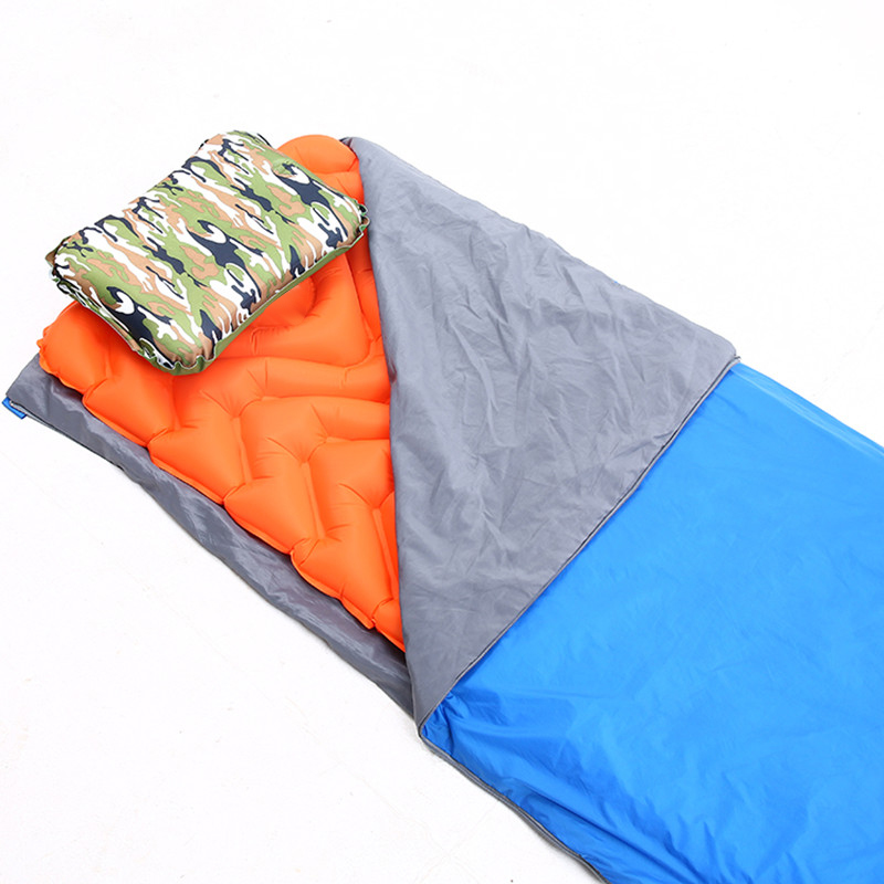 Ultra-Light-Outdoor-Automatic-Inflatable-Sleeping-Pad-Tpu-Camping-Tent-Infl-J5F9 thumbnail 4