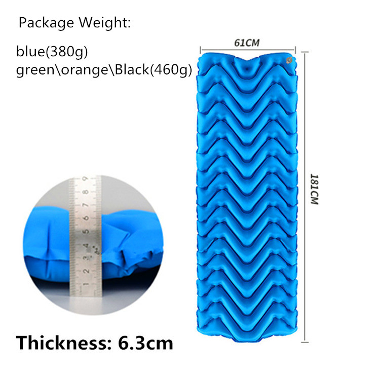 Ultra-Light-Outdoor-Automatic-Inflatable-Sleeping-Pad-Tpu-Camping-Tent-Infl-J5F9 thumbnail 5