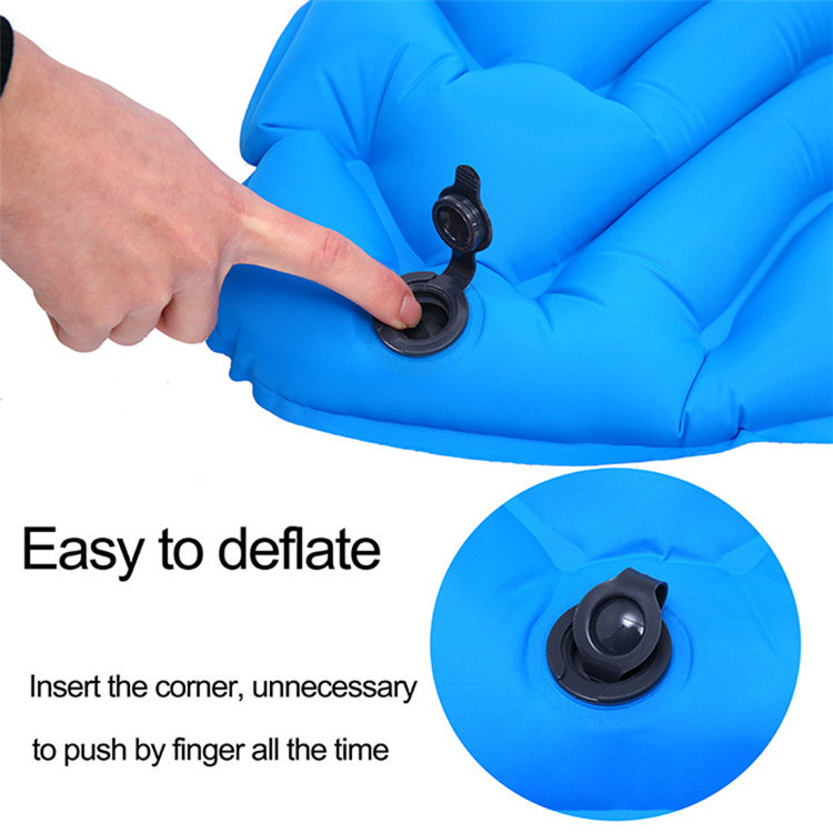 Ultra-Light-Outdoor-Automatic-Inflatable-Sleeping-Pad-Tpu-Camping-Tent-Infl-J5F9 thumbnail 6