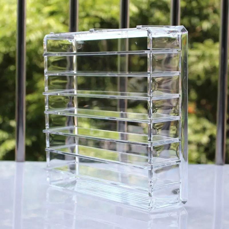 Effacer-Acrylique-Maquillage-Organisateur-Boite-De-Rangement-Cosmetique-M7K5 miniature 3