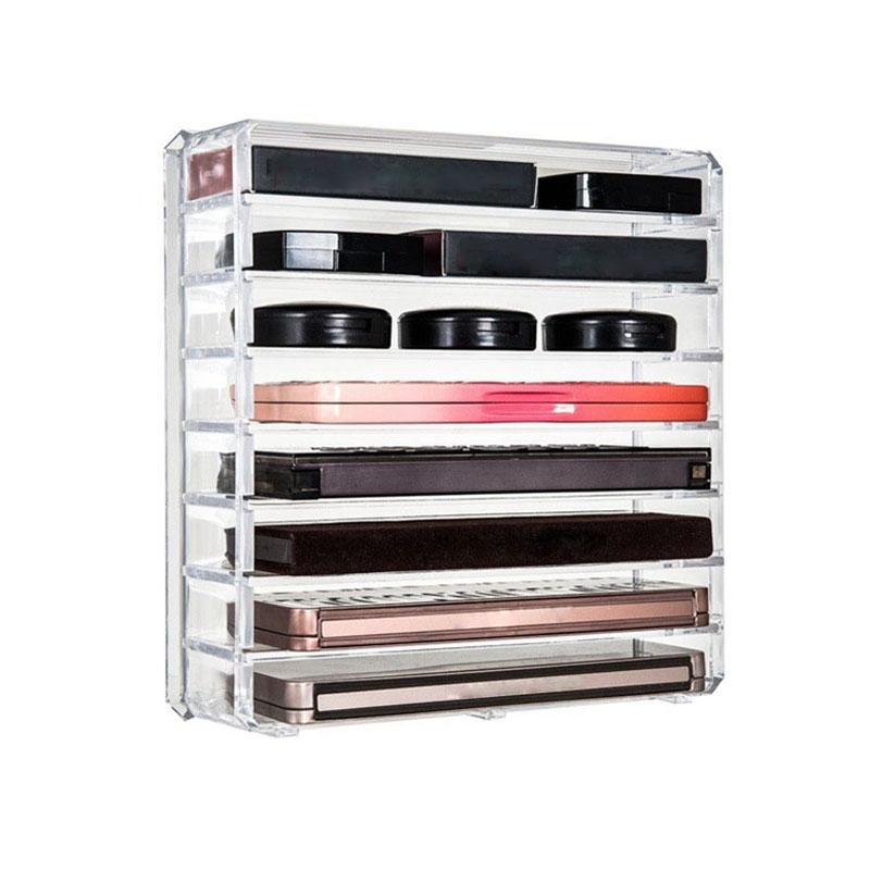 Effacer-Acrylique-Maquillage-Organisateur-Boite-De-Rangement-Cosmetique-M7K5 miniature 4