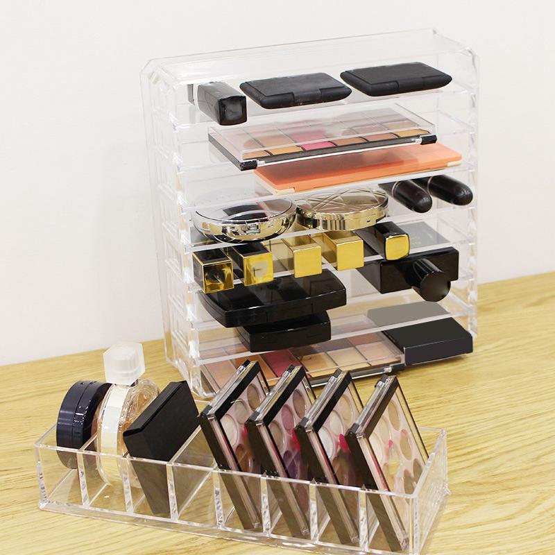 Effacer-Acrylique-Maquillage-Organisateur-Boite-De-Rangement-Cosmetique-M7K5 miniature 6