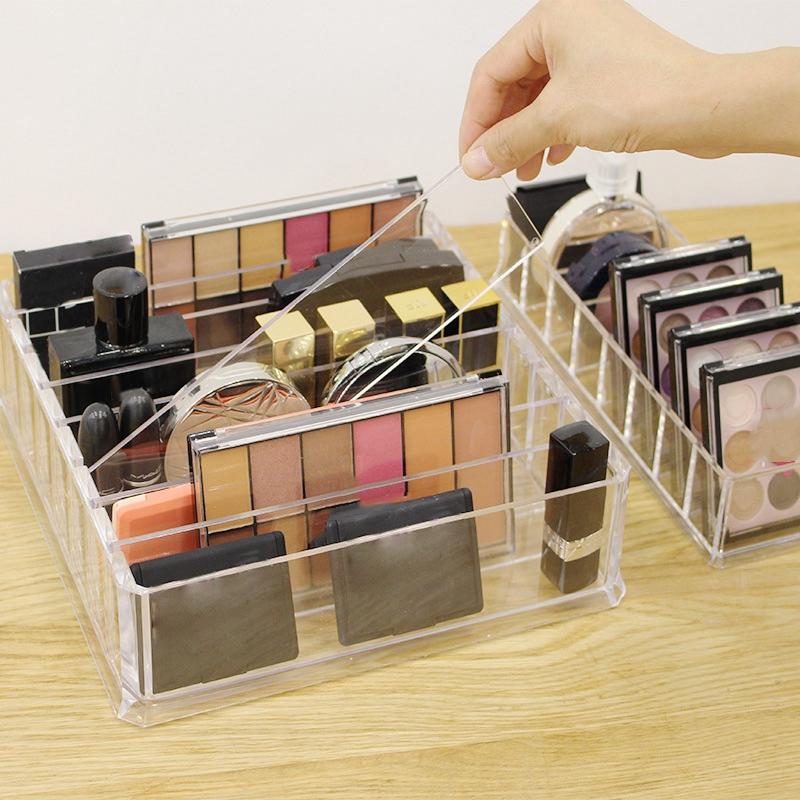 Effacer-Acrylique-Maquillage-Organisateur-Boite-De-Rangement-Cosmetique-M7K5 miniature 7
