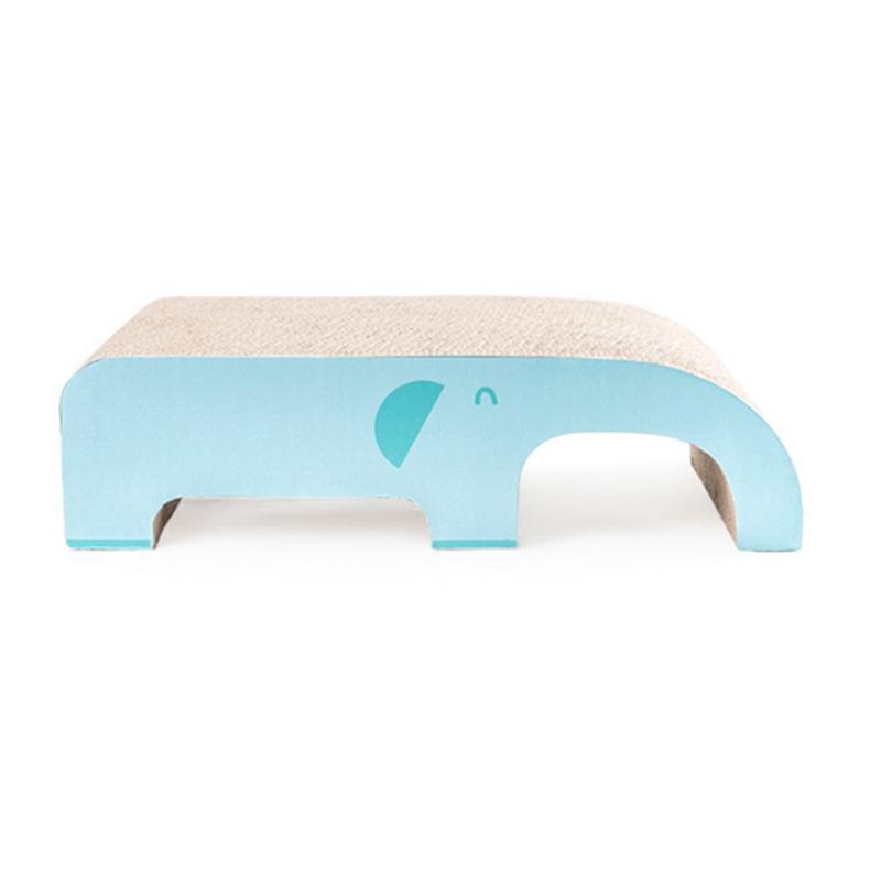 15XPet Cat Scratch Board Corrugated Paper Grinder Elephant Slide WearRes 3Y8