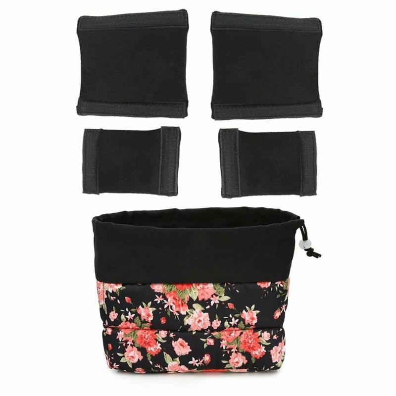 Insertion-Floral-Partition-Dslr-Camera-Bag-Lentilles-Antichoc-Case-Coque-D9Q4 miniature 7