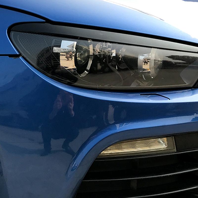 Linterna-Del-Coche-Etiqueta-Engomada-de-la-Ceja-Decoracion-para-Volkswagen-E5H1 miniatura 14