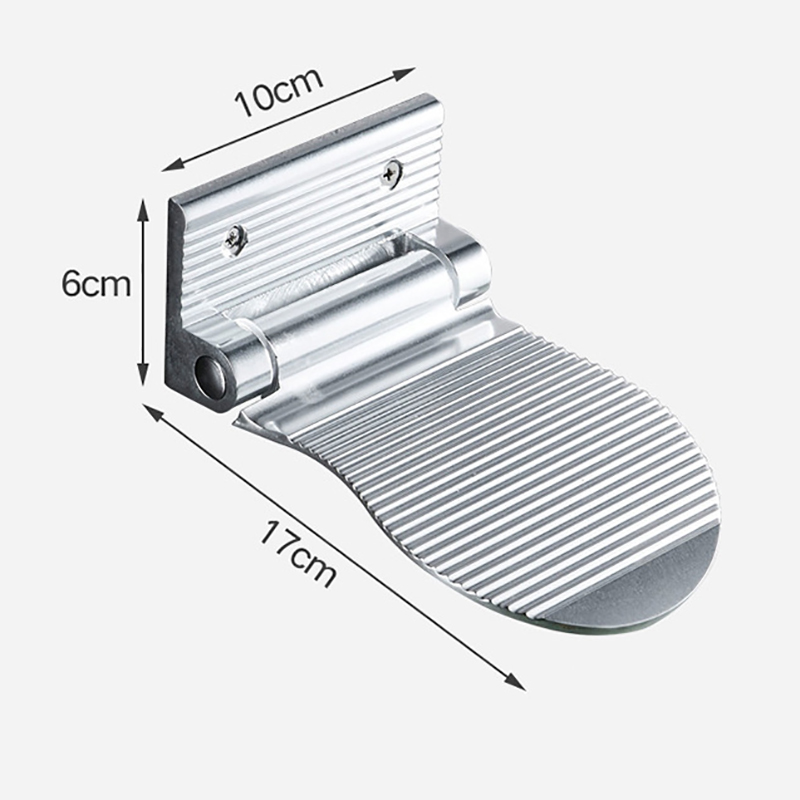 2X-Bathroom-Footrest-Aluminium-Anti-Slip-Foot-Rest-Pedal-For-Shower-C8T4 thumbnail 3