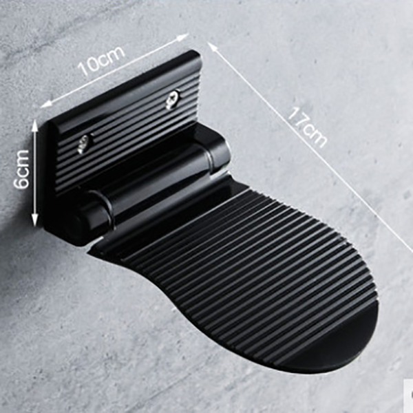 2X-Bathroom-Footrest-Aluminium-Anti-Slip-Foot-Rest-Pedal-For-Shower-C8T4 thumbnail 10
