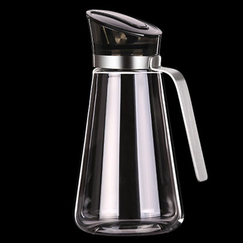 2X-Auto-Flip-Olive-Oil-Dispenser-Bottle-21-Oz-Leakproof-Condiment-Container-F4G5 thumbnail 3