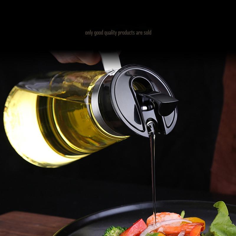2X-Auto-Flip-Olive-Oil-Dispenser-Bottle-21-Oz-Leakproof-Condiment-Container-F4G5 thumbnail 5