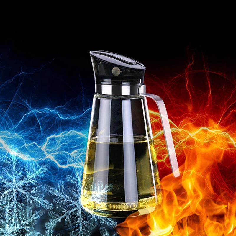 2X-Auto-Flip-Olive-Oil-Dispenser-Bottle-21-Oz-Leakproof-Condiment-Container-F4G5 thumbnail 6
