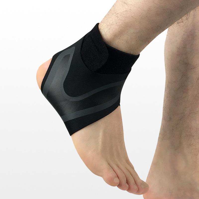 1X-Ajustable-Cheville-Brace-Sleeve-Respirant-pour-Sports-Protege-Contre-Les-N5L8 miniature 3
