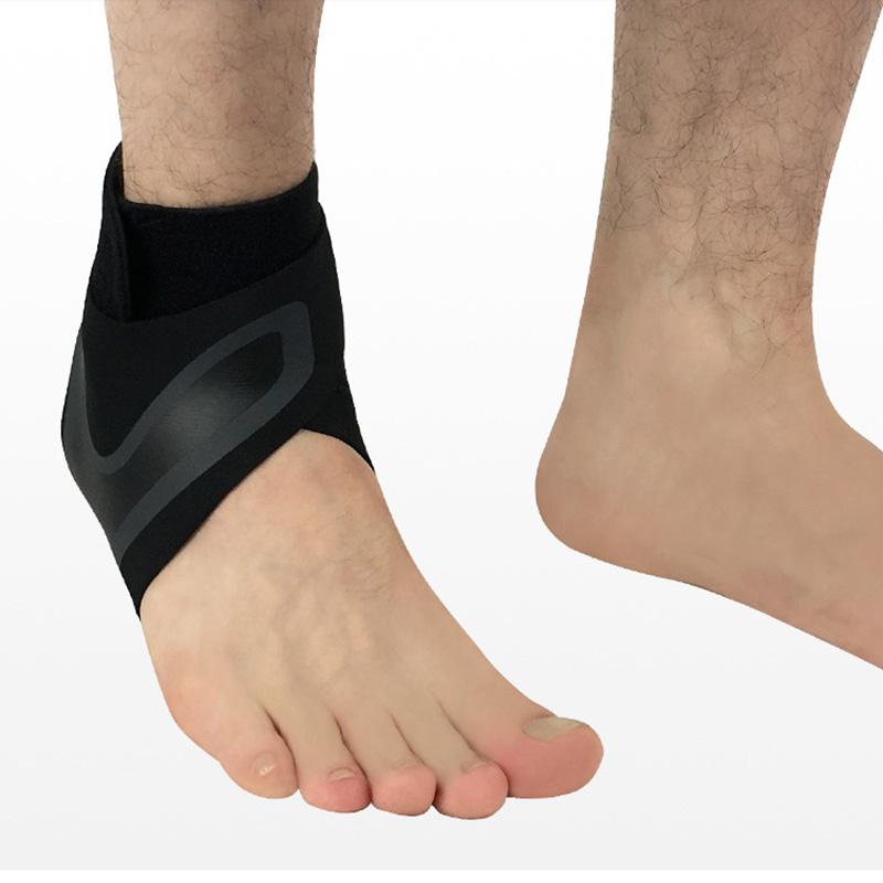1X-Ajustable-Cheville-Brace-Sleeve-Respirant-pour-Sports-Protege-Contre-Les-N5L8 miniature 4