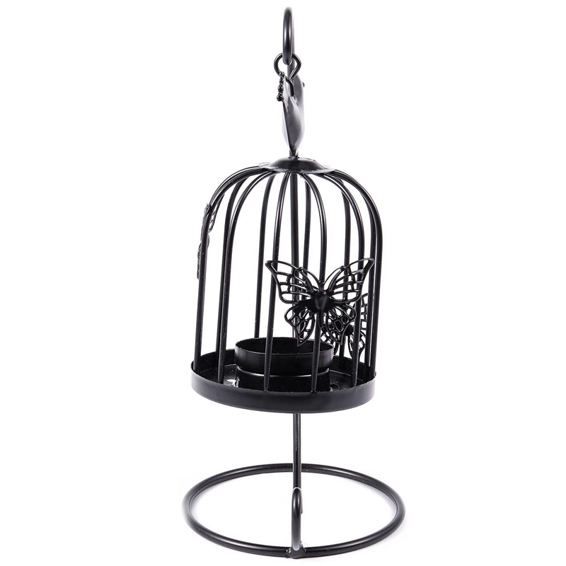 Vintage-Decor-Candle-Holders-Candelabra-Bird-Cages-Candlesticks-Decorative-P4S7 thumbnail 14