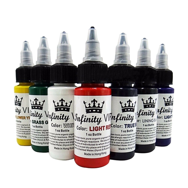 2Pcs-30Ml-Bottle-Professional-Tattoo-Pigment-Pure-Plant-Small-Tattoo-Pigmen-P9K3 miniatuur 5