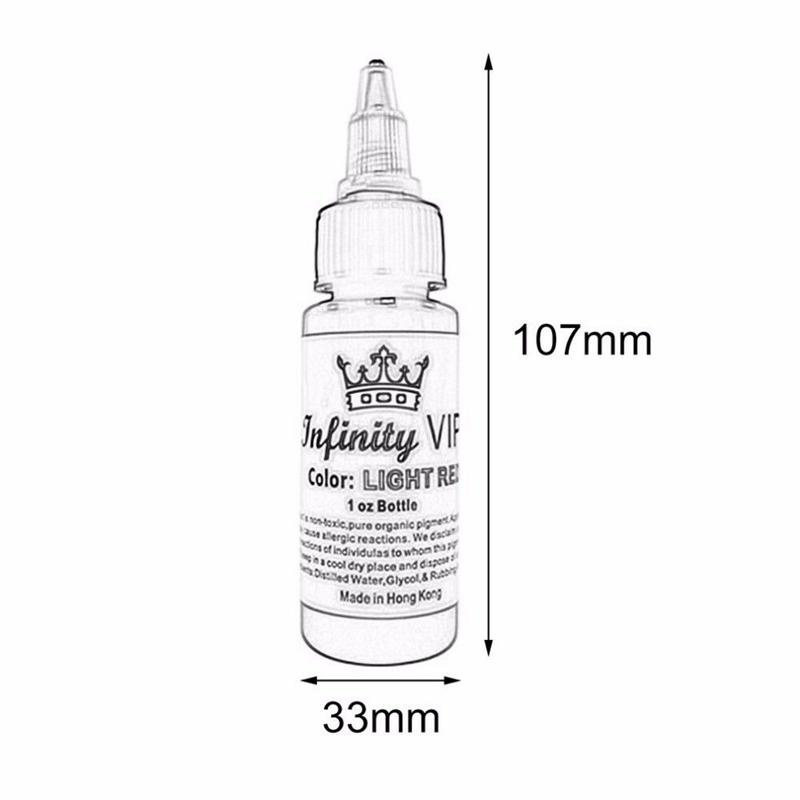 1X-2Pcs-30Ml-Bottle-Professional-Tattoo-Pigment-Pure-Plant-Small-Tattoo-PigL5X2 thumbnail 7