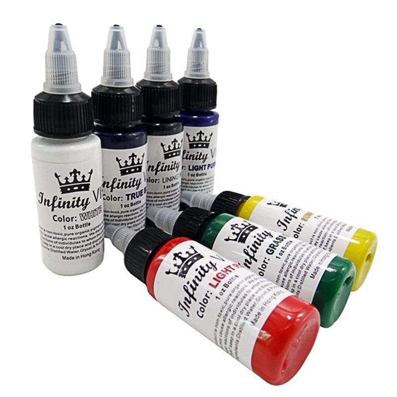 2Pcs-30Ml-Bottle-Professional-Tattoo-Pigment-Pure-Plant-Small-Tattoo-Pigmen-P9K3 miniatuur 8