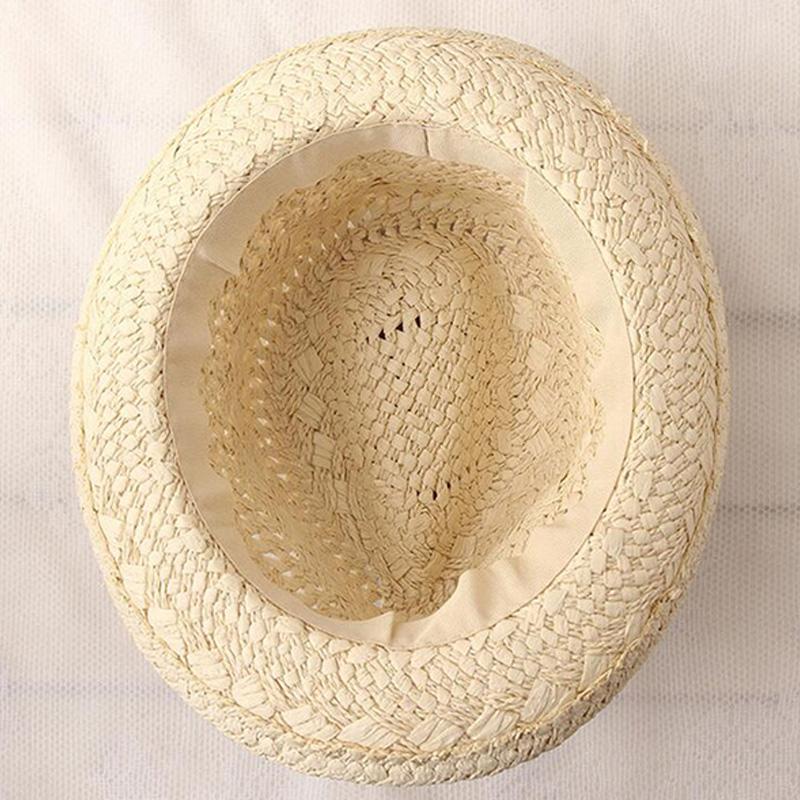 Summer-Women-Sun-Hats-Sweet-Tassel-Balls-Men-Straw-Hats-Girls-Vintage-Beach-B2G4 thumbnail 3