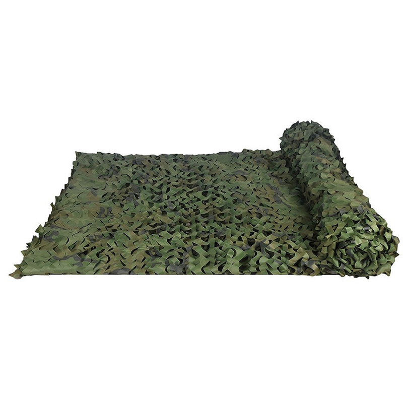 Hunting-Camouflage-Nets-Woodland-Camo-Netting-Blinds-Great-For-Sunshade-Cam-X7G9 thumbnail 3