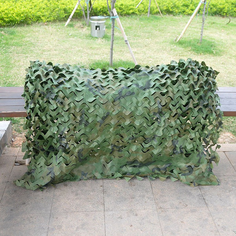 Hunting-Camouflage-Nets-Woodland-Camo-Netting-Blinds-Great-For-Sunshade-Cam-X7G9 thumbnail 6