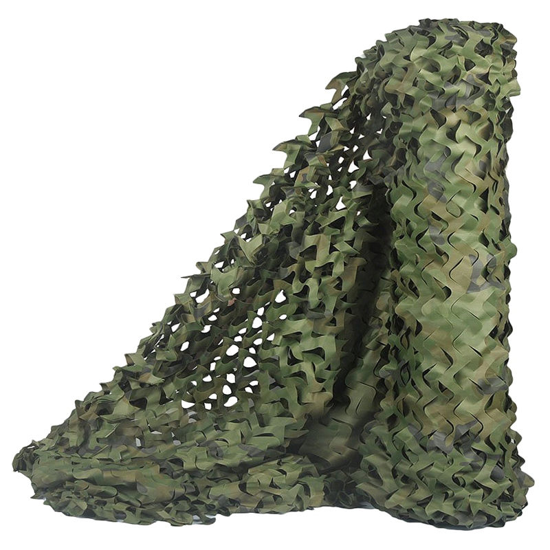 2X-Hunting-Camouflage-Nets-Woodland-Camo-Netting-Blinds-Great-For-Sunshade-C6X7 thumbnail 2