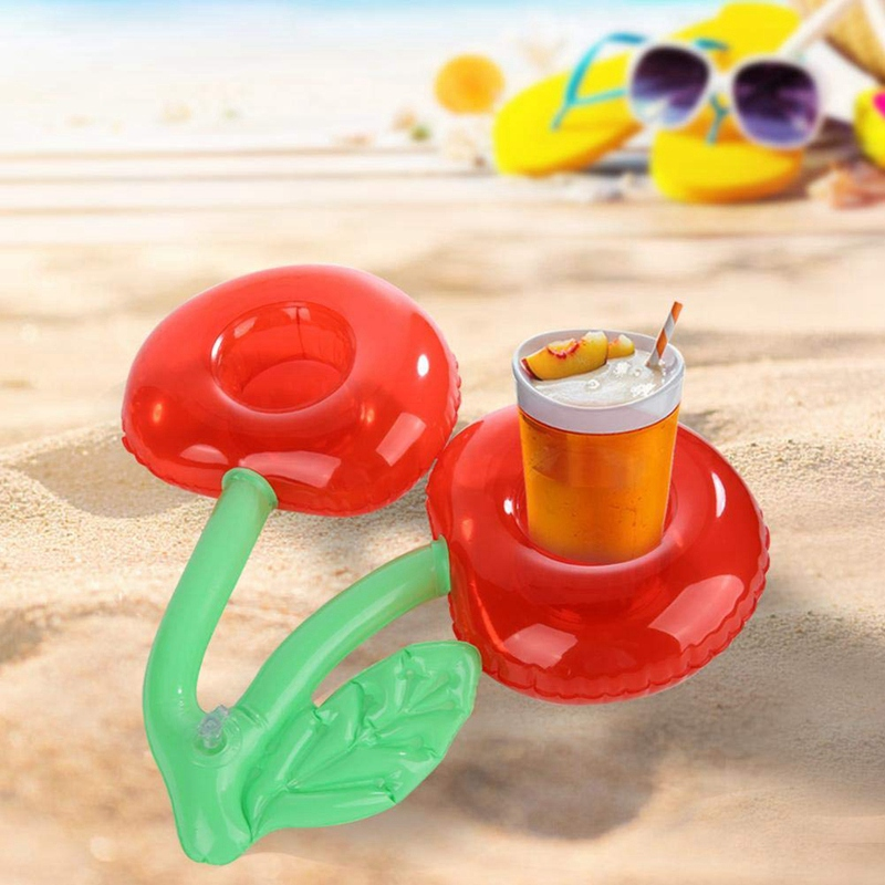 2X-Outdoor-Water-Cherry-Cup-Holder-Pool-Party-Drink-Holder-Floating-Beach-F6Z2 thumbnail 6