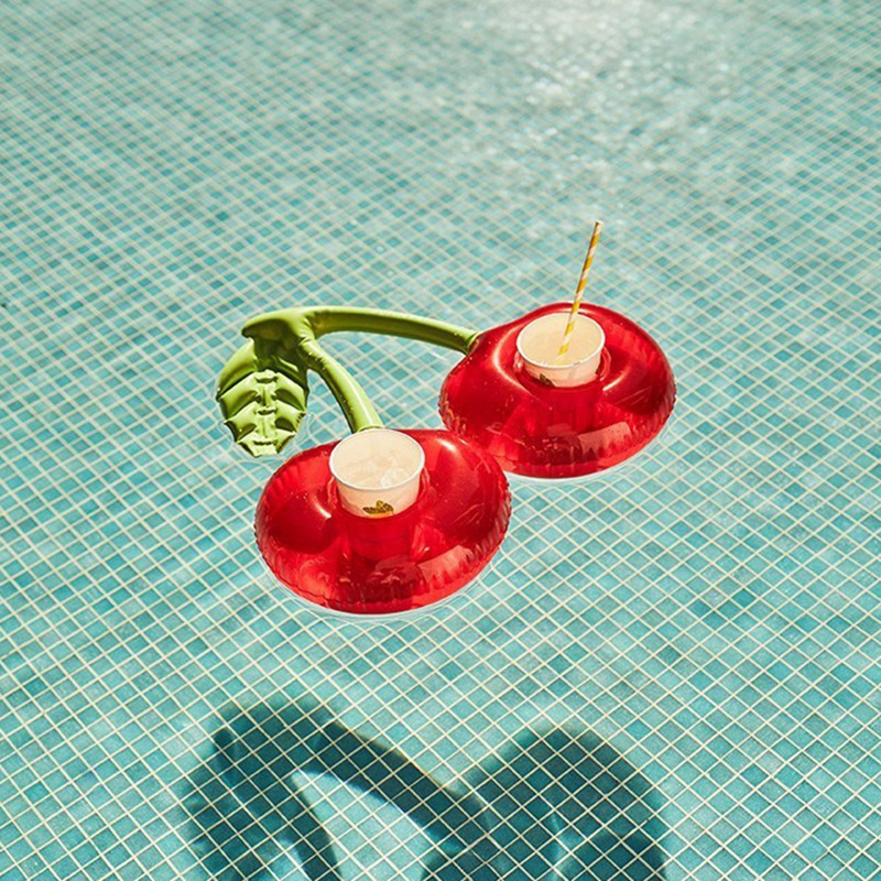 2X-Outdoor-Water-Cherry-Cup-Holder-Pool-Party-Drink-Holder-Floating-Beach-F6Z2 thumbnail 7