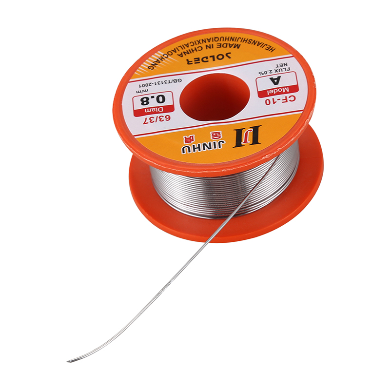 Tin Le Solder Core 2/% Flux Soldering Welding Wire Spool Reel 0.8mm No Cleaning