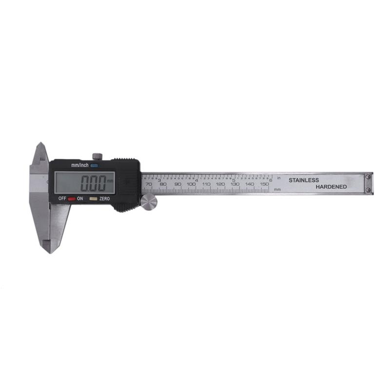 Plata-6-034-150mm-electronica-digital-pie-de-Rey-Calibre-grande-herramienta-de-J1V1 miniatura 2