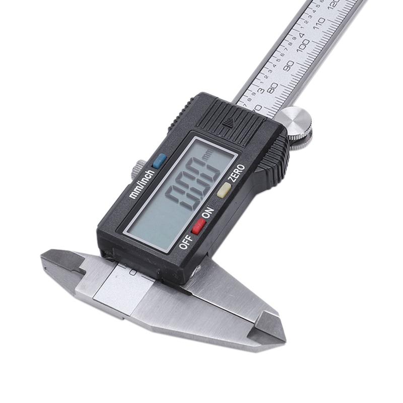 Plata-6-034-150mm-electronica-digital-pie-de-Rey-Calibre-grande-herramienta-de-J1V1 miniatura 4