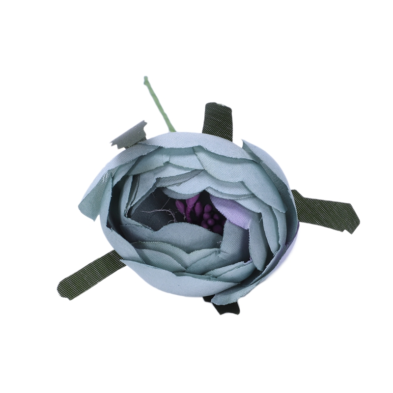 6pcs-Lot-Simulation-Seidentuch-Bouquet-Braut-Haelt-Blumen-Dekorative-Blumen-X7D6 Indexbild 26