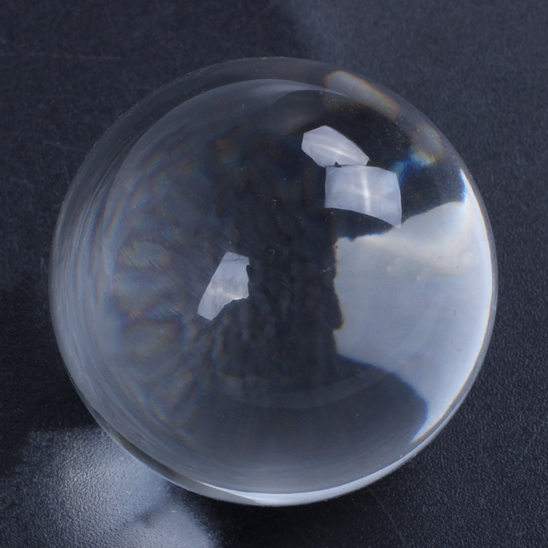 Clear-Glass-Crystal-Ball-Healing-Sphere-Photography-Props-Gifts-U9V4 thumbnail 6