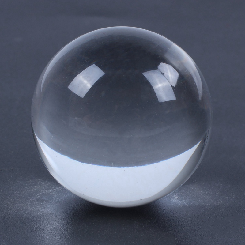 Clear-Glass-Crystal-Ball-Healing-Sphere-Photography-Props-Gifts-U9V4 thumbnail 7