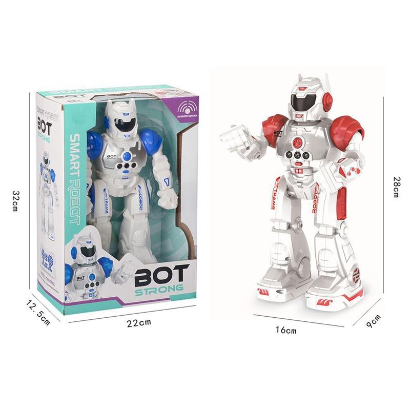 2X-Robot-de-Deteccion-de-Gestos-Modelo-de-Juguete-Control-Remoto-Inalambric-D3I9 miniatura 6