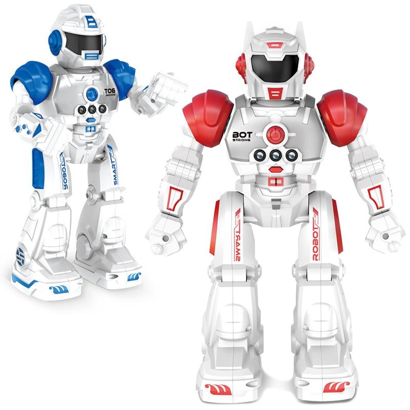 2X-Robot-de-Deteccion-de-Gestos-Modelo-de-Juguete-Control-Remoto-Inalambric-D3I9 miniatura 7