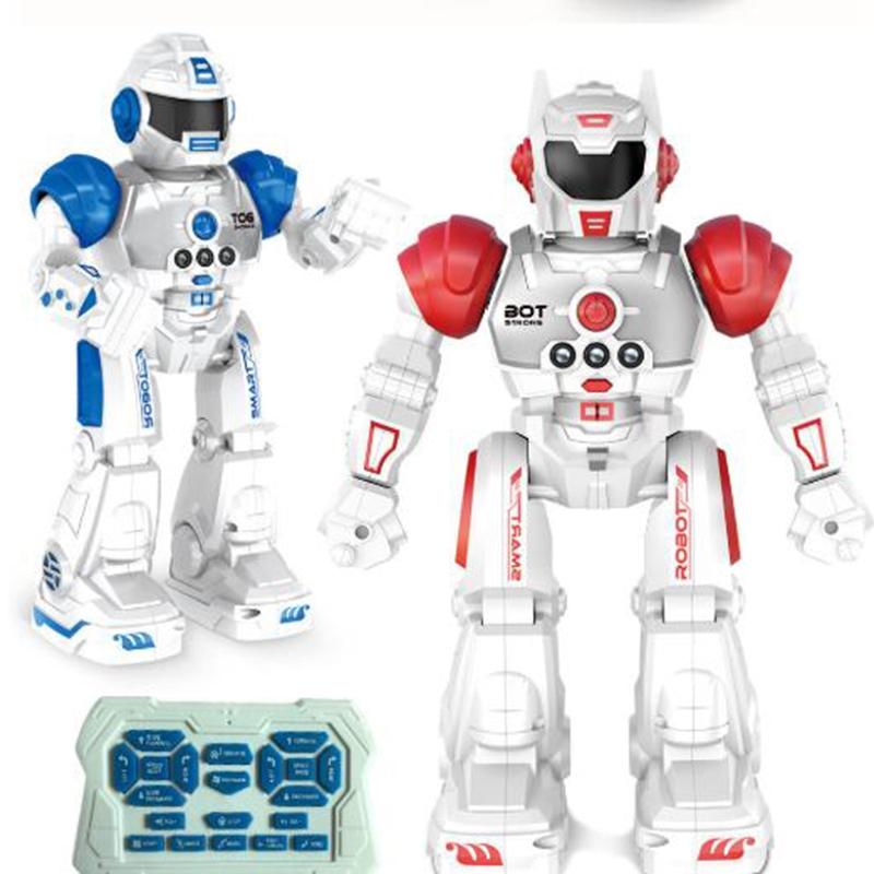2X-Robot-de-Deteccion-de-Gestos-Modelo-de-Juguete-Control-Remoto-Inalambric-D3I9 miniatura 8